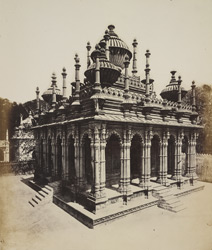 General view of Maija Sahiba's Tomb, Junagadh